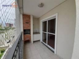 Apartamento para alugar, 120 m² por R$ 2.400,00/mês - Jardim Satélite - São José dos Campo
