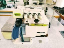 Maquina de costura Interlock Industrial