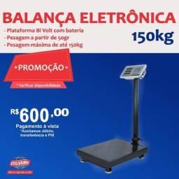 Título do anúncio: Balança Digital 150 kgs Plataforma Piso Reforçada
