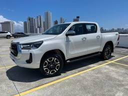 Título do anúncio: Toyota Hilux SRX 2.8 4x4 0km Branco Pérola