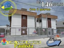 Título do anúncio: Prive Estilo Apartamento - Lot. Nova Aurora Em Paulista - 146.990 MIL