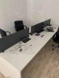 Título do anúncio: Mesa plataforma de 6 lugares para escritório