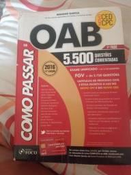 Título do anúncio: Como passar OAB  60 reais
