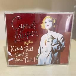 CD Single (Hey Now) Girls Just Wanna Have Fun - Cyndi Lauper (Importado e Lacrado)