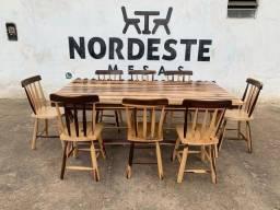 Fabricamos mesas e cadeira