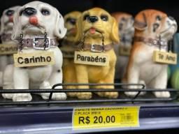 Título do anúncio: Enfeite de Resina de cachorro somente 20 reais a unidade