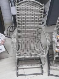 Título do anúncio: Cadeira de balanço 4 molas