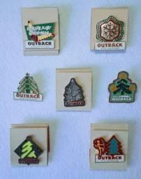 Pins Originais Outback Coleção.