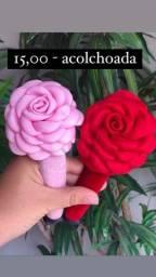 Título do anúncio: Tiaras de flores acolchoada