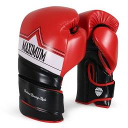 Título do anúncio: Par de Luva 12oz Boxe Muay Thai KickBoxing Maximum Comfort Fechamento Duplo