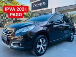 Peugeot 2008 Griffe 2016 c/ Teto Panorâmico - IPVA 2021 PAGO