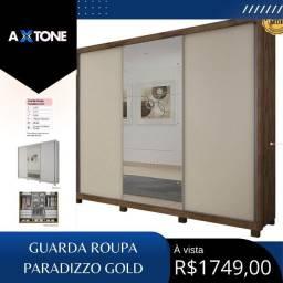 Título do anúncio: Guarda roupa paradizzos golds 280