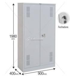 Título do anúncio: armario de aço, modelo 402