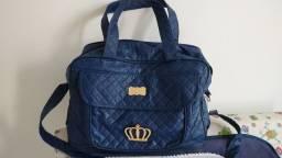 Conjunto mala e bolsa príncipe