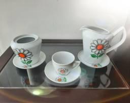 Jogo de porcelana 5 peças