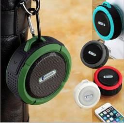 Título do anúncio: Caixinha Som Bluetooth Com Ventosa Lotus Weireless À Prova D'água