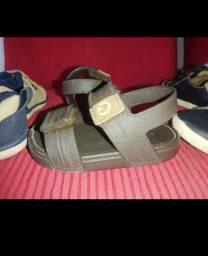 Sapato e percata infantil