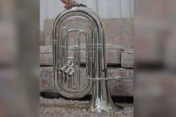 Título do anúncio: Tuba 3/4 Scavone Condor 3 Pistos Dó Usada