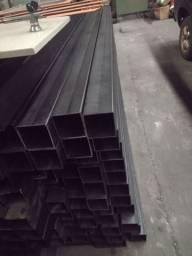 Metalon 100x100 chapa de 3 mm com 2.4 metros R$160,00