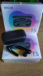 Fone de Ouvido QCY T5 Original Bluetooth 5.0 Entrega Grátis