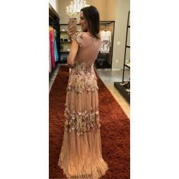 Título do anúncio: Vestido de festa pedraria Raquel de Queiroz