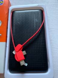 Carregador portátil - novo na caixa