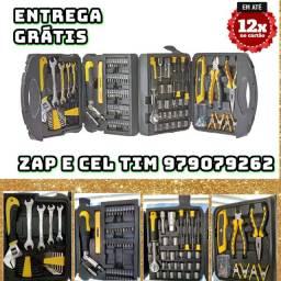 Maleta de ferramentas, EDA, Preto, 117 Peças