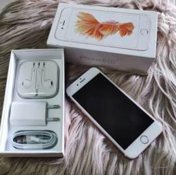 Título do anúncio: iPhone 6 S 128GB Rose Gold