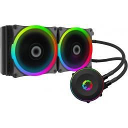 Título do anúncio: Water Cooler Gamemax Iceberg 240 Rainbow RGB - NOVO - Loja Física