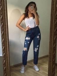 Título do anúncio: Calça Jeans mom