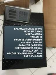 Título do anúncio: NA CAIXA BALANÇA MODELO CHÃO 600kg GARANTIA EMITIMOS NOTA