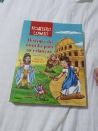 Título do anúncio: Monteiro Lobato História do mundo para as crianças