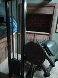 Máquina bíceps Scott Musculação