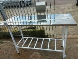 Vendo mesa inox