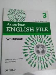 Livre de inglês American File 3
