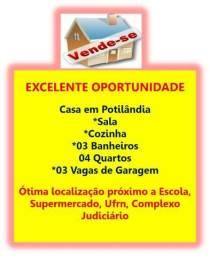 Casa em Potilândia - 04 Quartos