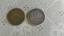 Cédulas raras para colecionadores aparti de 1,000