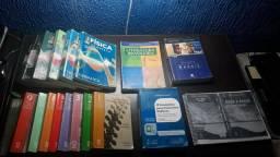 Coleção de Livros para vestibular e EsPCEx