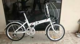 Bicicleta dobrável aro 20