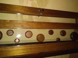 Folha de porta madeira maciça