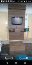 Painel tv e mesa de centro