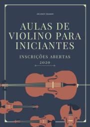 Aulas de violino para iniciante em petrolina