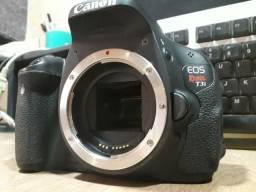 Canon t3i com defeito