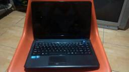 Notebook I3, 4Gb de ram, 500Gb de HD