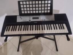 Vendo Teclado Musical Yamaha + Fonte + Porta Partituras