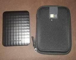 Hd Externo Samsung + Case