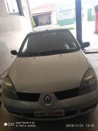 Clio 1.0 16v 2008 Prata - 2008