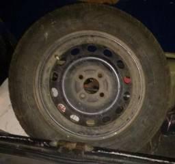 Roda coquinho,+ pneu
