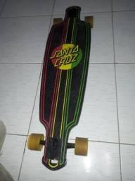 Skate Long Board Santa Cruz ultilizado poucas vezes