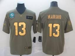 Camisa Oficial de futebol Americano NFL Miami Dolphins Nike 2019-2020